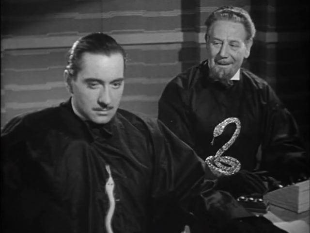 Sexton Blake and the Hooded Terror Sexton Blake and the Hooded Terror 1938 George King George Curzon