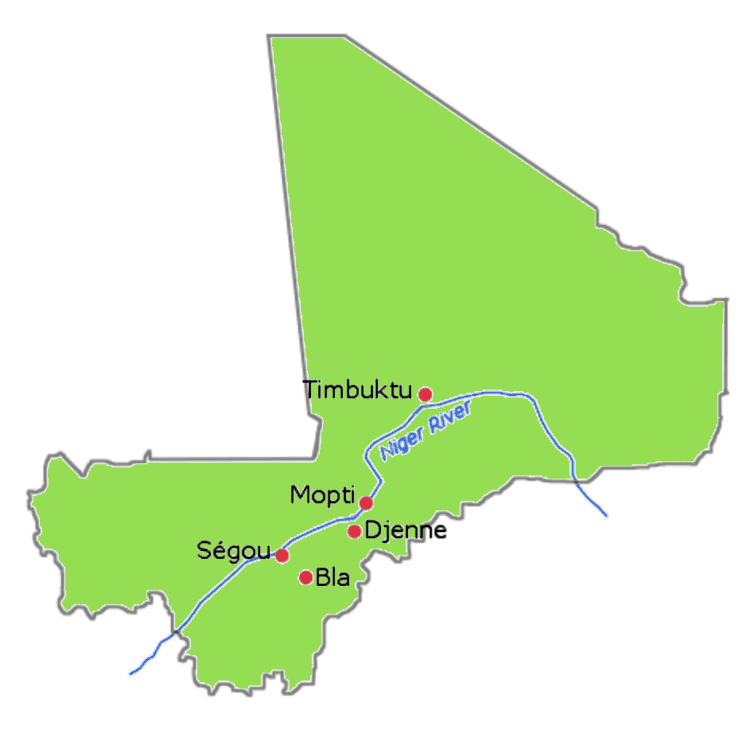 Segou in the past, History of Segou