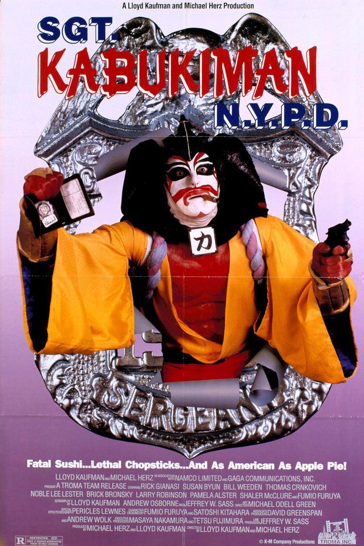 Sgt. Kabukiman N.Y.P.D. wwwgstaticcomtvthumbmovieposters13191p13191