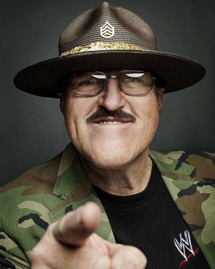 Sgt. Slaughter Sgt Slaughter on WWE Fans in San Antonio Wrestling on Mars and