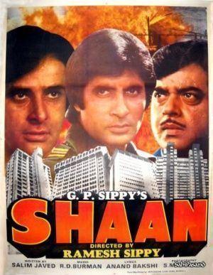 Shaan 1980 Amitabh Bachchan Bollywood Posters Pinterest