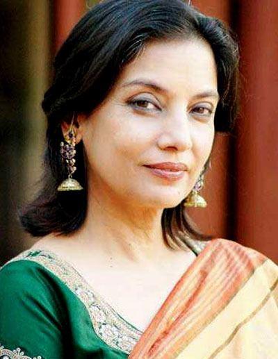 Shabana Azmi Only a great actress like Shabana Azmi can defend Fatwa