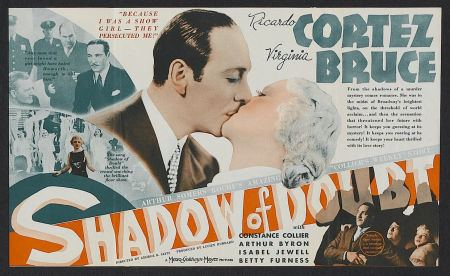 Shadow of Doubt (1935 film) Lauras Miscellaneous Musings Tonights Movie Shadow of Doubt 1935