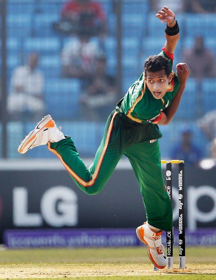 Shafiul Islam bowled a tight opening spell without a wicket Photo