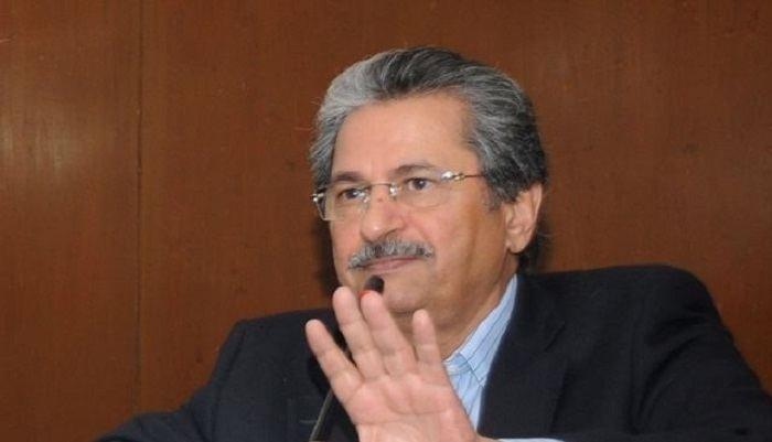 Shafqat Mahmood Nawaz Sharifs rally maligns SC says Shafqat Mahmood Pakistan Today