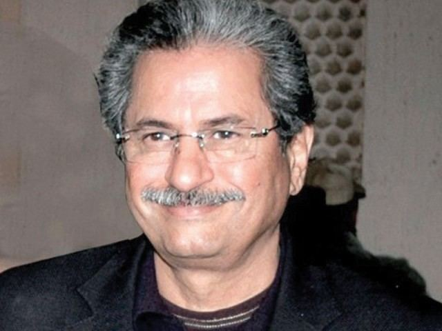 Shafqat Mahmood Shafqat Mehmood bags NA126 seat from Lahore The Express