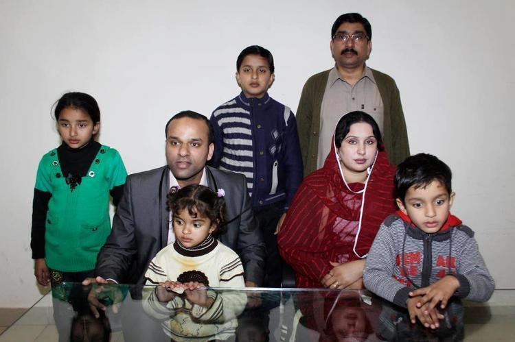 Shahid Nazir (Cricketer) family