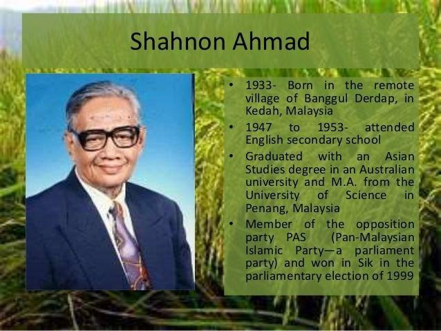 Shahnon Ahmad noharvestbutathorn2638jpgcb1402516196