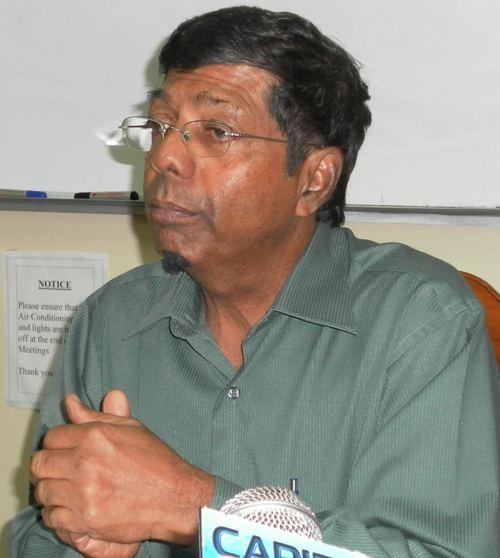 Shaik Baksh Shaik Baksh sent on leave Collin Croal resigns Kaieteur News
