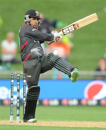 World Cup 2015 Shaiman Anwar the latest batting sensation from UAE