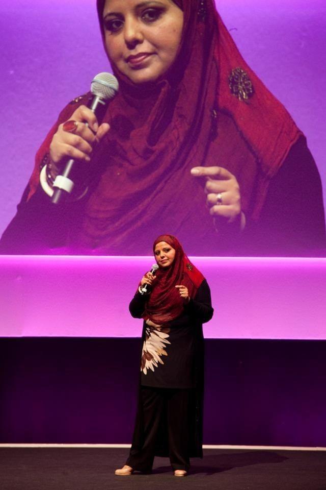 Shaista Aziz Meet Shaista Aziz the Arab Worlds Funniest Woman Performance OZY