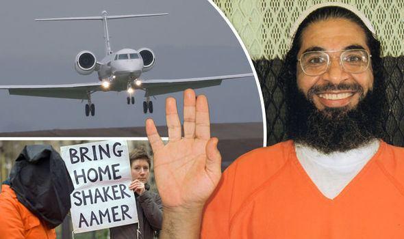 Shaker Aamer Last Briton in Guantanamo Bay Shaker Aamer finally LANDS