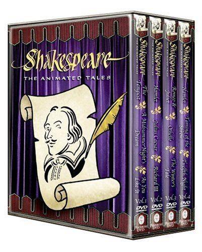 Shakespeare: The Animated Tales Amazoncom Shakespeare The Animated Tales Alec McCowen Michael