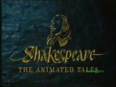 Shakespeare: The Animated Tales BBC2 Schools Continuity Compilation Shakespeare The Animated Tales