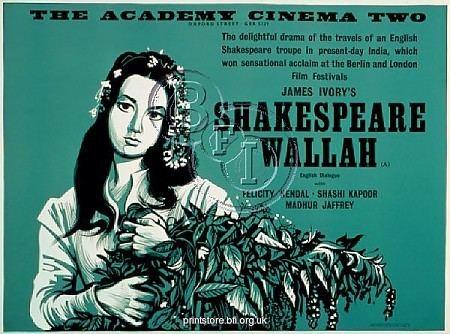 Shakespeare Wallah Shakespeare Wallah 1965 Ind MerchantIvory Madhur Jaffrey D