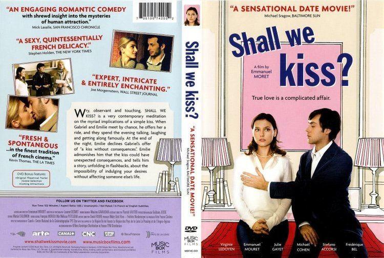 Shall We Kiss? Shall We Kiss Movie DVD Scanned Covers Shall We Kiss English