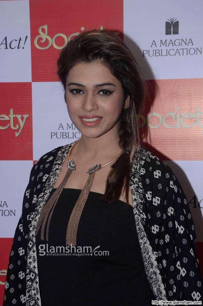 Shalmali Kholgade Shalmali Kholgade at at the Society Magazine launch