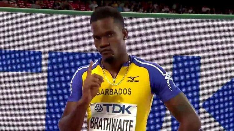 Shane Brathwaite Bajan hurdlers bow out in semis Loop News Barbados
