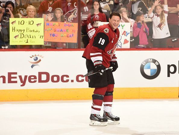 Shane Doan Shane Doan on his legacy his style hockey playing future