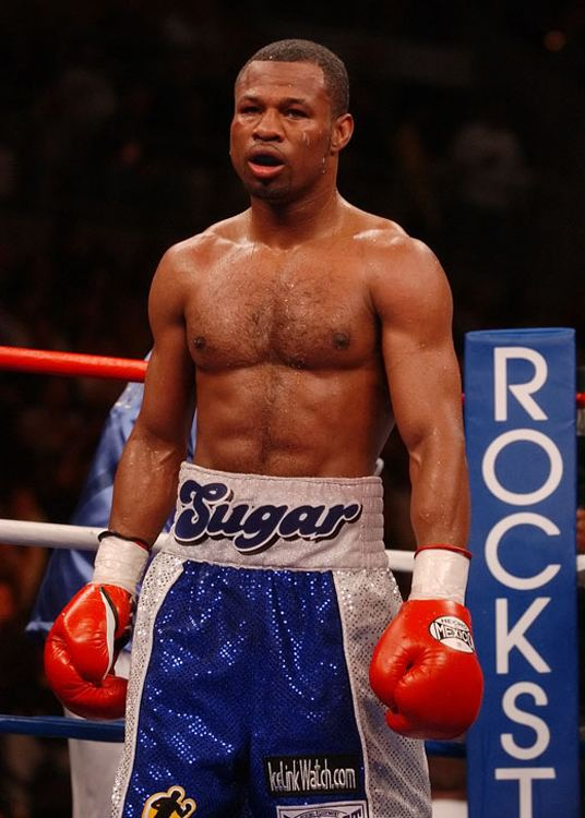 Shane Mosley Boxer Sugar Shane Mosley explains why he didnt put the paws on Trey