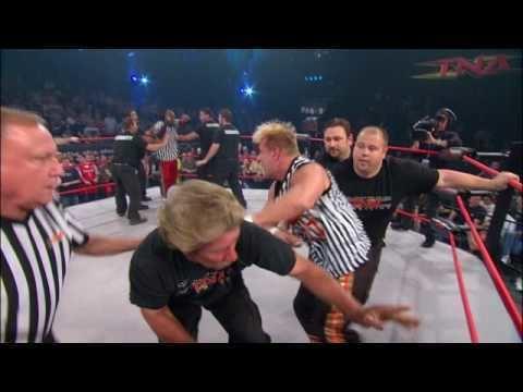 Shane Sewell TNA Booker T Shane Sewell Brawl YouTube