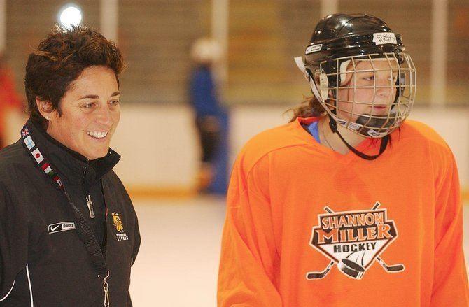 Shannon Miller (ice hockey) Shannon Miller Female Coaching Network