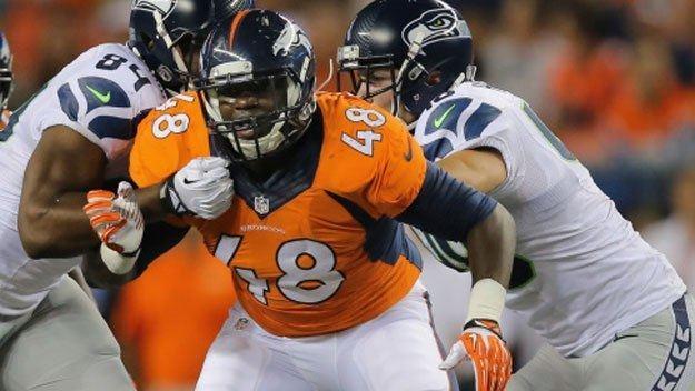Shaquil Barrett Former CSU Star Shaquil Barrett Back On Broncos39 Practice