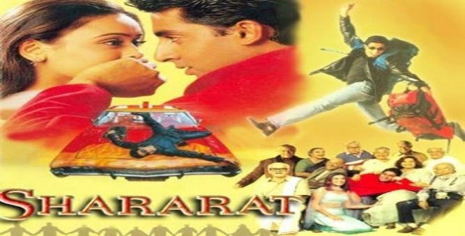Bollywood Movie Shararat Shooting Locations
