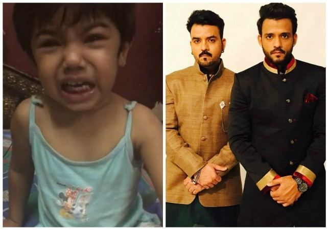 Sharib Sabri Crying girl in viral video is singer Toshi Sharib Sabris niece