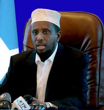 Sharif Sheikh Ahmed Somali President Calls for more Aid in US Visit
