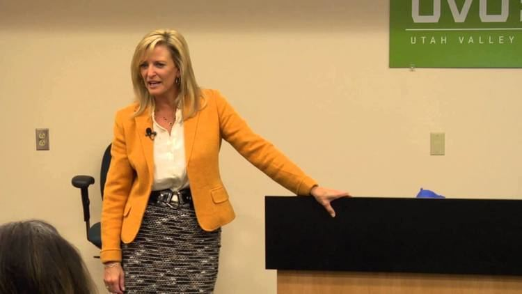 Sharlene Wells Hawkes UVU Womens Success Center Lecture Series Sharlene Wells Hawkes