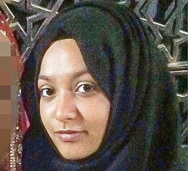 Sharmeena Begum Muslima Sharmeena Begum Radicalized at London Mosque joins