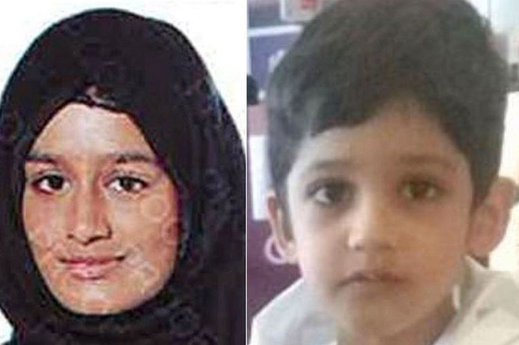 Sharmeena Begum Babes in arms Tragedy of Brit kids living in shadow of ISIS The Sun
