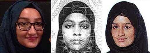 Sharmeena Begum Missing schoolgirls First teenager who fled from east London named