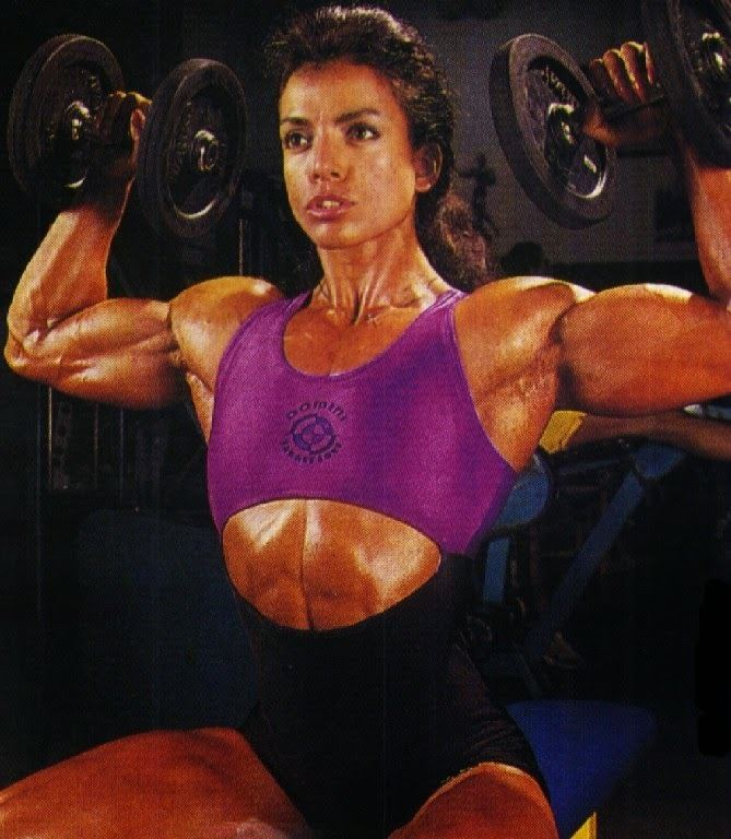 Sharon Bruneau body building workout tips and advice professional