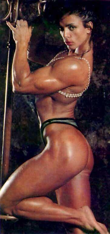Sharon Bruneau Former female bodybuilder Sharon Bruneau Health