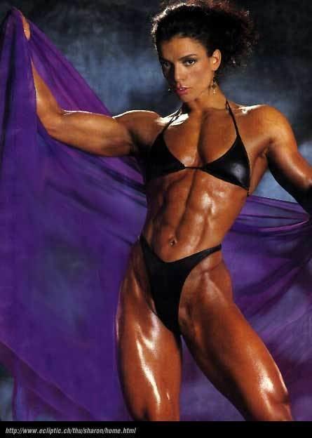 Sharon Bruneau Sharon Bruneau From Bodybuilder to Bombshell