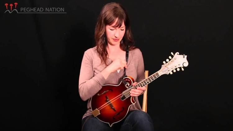 Sharon Gilchrist Gilchrist FStyle Mandolin Demo from Peghead Nation YouTube
