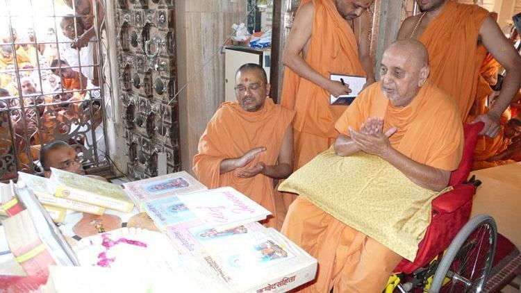 Shastra HH Pramukh Swami Maharajs Vicharan Sarangpur