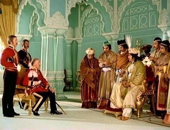 Shatranj Ke Khilari movie scenes Image A scene from Shatranj Ke Khilari