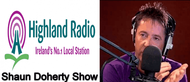Shaun Doherty MD Daniel Curran on Highland Radio with Shaun Doherty
