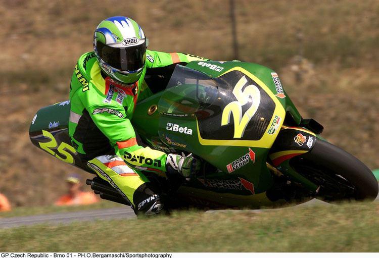 Shaun Geronimi Reparto Corse n6 SHAUN GERONIMI PATON PC 500RG BRNO 2001 LAST