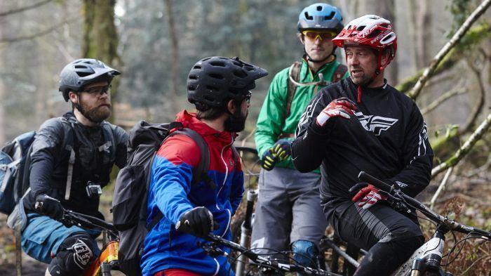Shaun Palmer MBUK rides with mountain bike legend Shaun Palmer at the