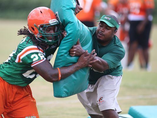 Shawn Bryson New RB coach on mission to improve running game at FAMU