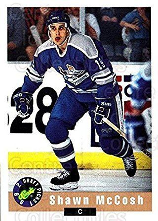 Shawn McCosh Amazoncom CI Shawn McCosh Hockey Card 1992 Classic Hockey Draft