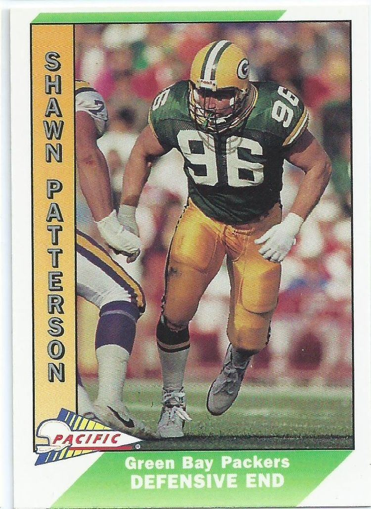 Shawn Patterson (American football) GREEN BAY PACKERS Shawn Patterson 164 PACIFIC 1991 NFL American