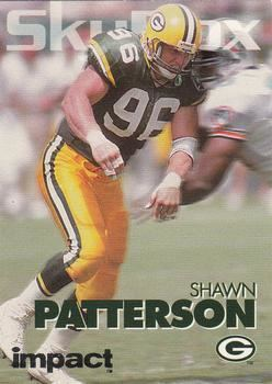 Shawn Patterson (American football) Shawn Patterson Gallery The Trading Card Database