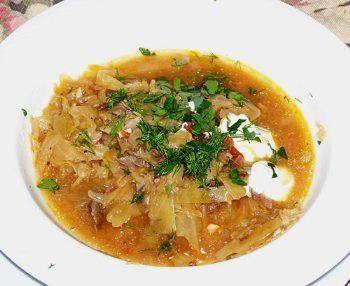 Shchi Shchi Russian Sauerkraut Soup BigOven