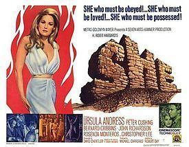 She (1965 film) She 1965 film Wikipedia