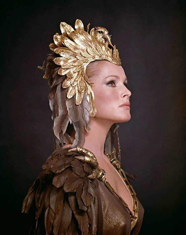 She (1965 film) Ursula Andress as Ayesha in She a 1965 film made by Hammer Film
